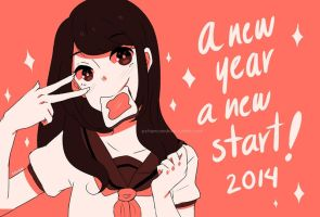 Happy new year! by AkatsukiZakuro