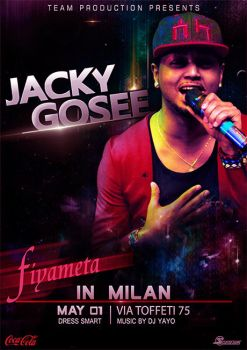 Concert poster - Jacky Gosee by SisayDesigns