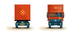 Vectorial Truck Illustration 2 by PauloDuqueFrade