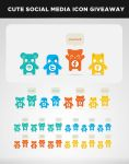FREE Cute Social Media Icons by BellmanDesign