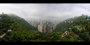 Fog Over Hong Kong by WiDoWm4k3r