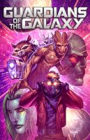 Guardians of the Galaxy by juan7fernandez
