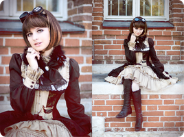 Steampunk Doll - Autumn pt.9 by UselessDevice