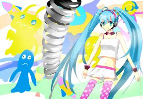 Hatsune Miku : Redial by NSBlood-sugar