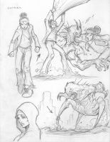 Carmen sketches #Divinity by c-crain