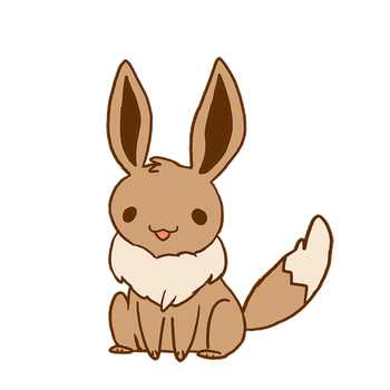 Eevee animation by michellescribbles