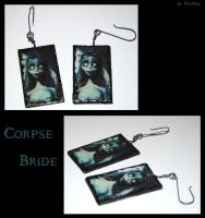 Corpse Bride earrings by Marchia