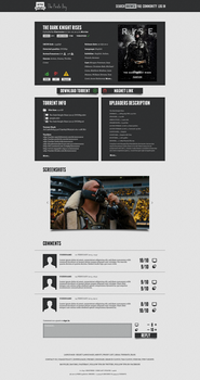 The Pirate Bay Redesign III by epicXbread