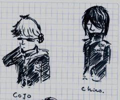 cojo and chino by sleepinartist
