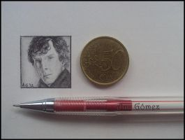 Sherlock - miniature. by mymelynx