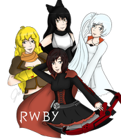 RWBY by noomimono