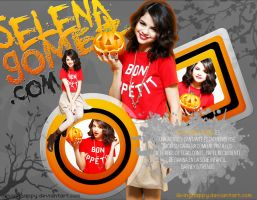 +Wallpaper SelenaGomez by iLivingHappy