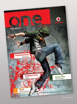 One magazine cover by moiret