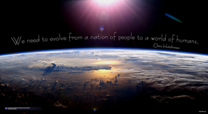 Evolve to a World of Humans by brainhiccup