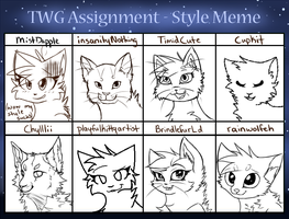 TWG Assignment - Style Meme by MistDapple