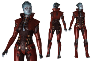 Samara Omega Outfit for XPS by Just-Jasper