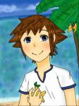 Young Sora by kairistar12
