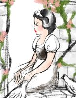 Snow White doodle by SpicyPoptart