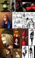 Sketchdump Part4 : comics project by Grimhel