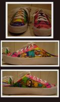 Adventure Time Shoe by SharpieSam