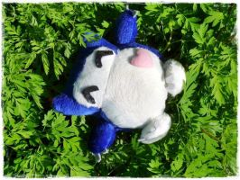 Baby Relaxo Plushie by Plushbox