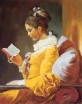 A Young Girl Reading by stawil