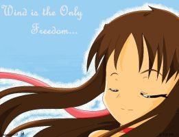 Wind is the Only Freedom by crazy-love2draw