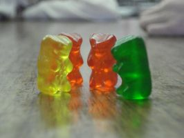 Gummy Bear Photography huddle1 by cajunsunshine92