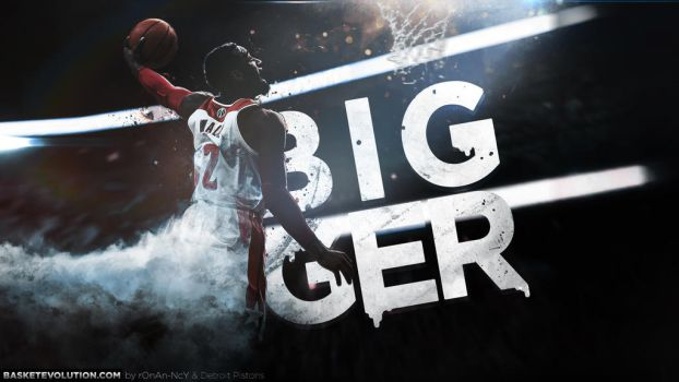 John Wall : Bigger by rOnAn-Ncy