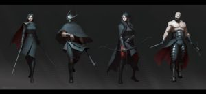 Hunting Party Concepts by JimmyZhang