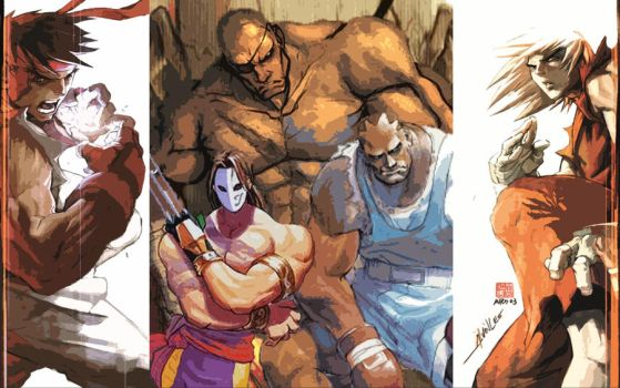 street fighter tribute by LazyLacy
