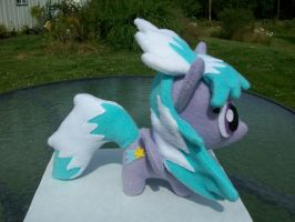 Cloud Chaser Chibi Pony MLP FIM by happybunny86