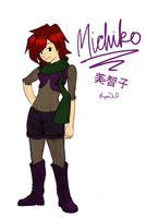 Michiko: Soul Eater OC by breathewithyou