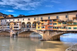 Florence Ponte Vecchio by catalinm