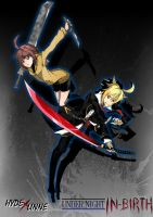 Under-Night IN-Birth Hyde and Linne by DugssanA1993
