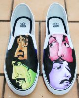 Beatles Rockband Shoes 1 by LovelyAngie