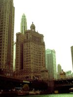 Chicago River by polexing