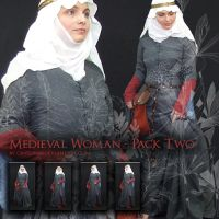 Medieval Woman - Pack 2 by Georgina-Gibson