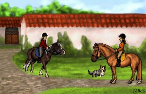 Equine Therapy - Objective 19 - Secrets by NightingaleStables