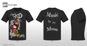 Music is my Muse by KingdomHeartBreakers