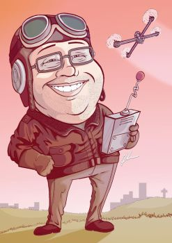 Dave - Caricature Time by ZoomToons