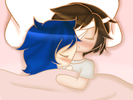 Sleepy Cuddles by New-To-The-NBHD