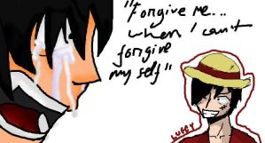 dont cry luffy by chimchim892