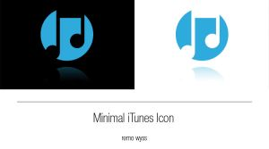 [icon] Minimal iTunes Icon by Primofenax