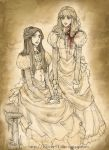 Carmilla and Laura by Florbe