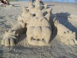 Bowser sand sculpture 1 by pauladrag17