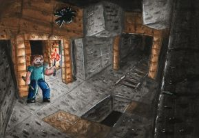 No.38 Abandoned Mineshaft by Lighiting-Dragon