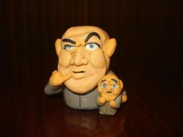 Dr Evil by plastilinero