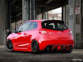 Mazda 2 Redesign Contest by gilangkharisma