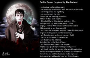 Gothic Dream (Inspired by Tim Burton) by demonrobber